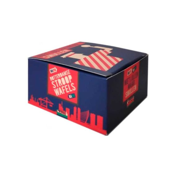 Rotterdamse Stroopwafels cadeau Niel Lullen maar Smullen gift geschenk