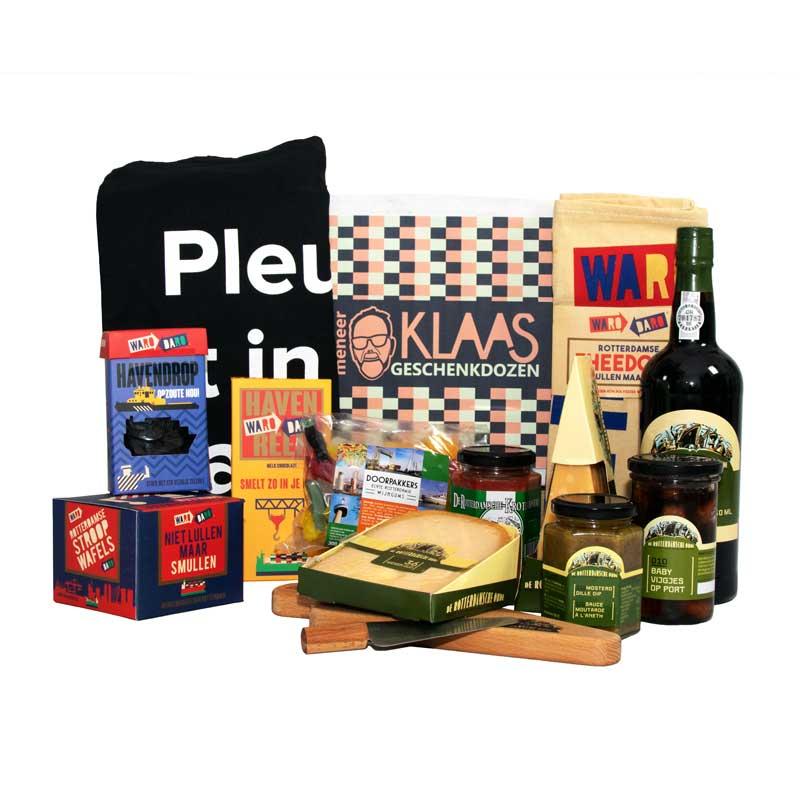 Geschenkpakketten Kerst, Meneer Klaas, Rotterdams Pakket