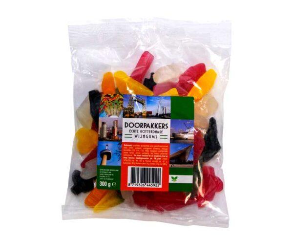 Doorpakkers Rotterdams snoepgoed wijngums zak