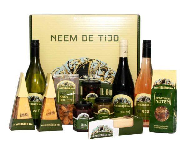 De Rotterdamsche Oude pakket Cadeaudoos, Rotterdams Kerstpakketten