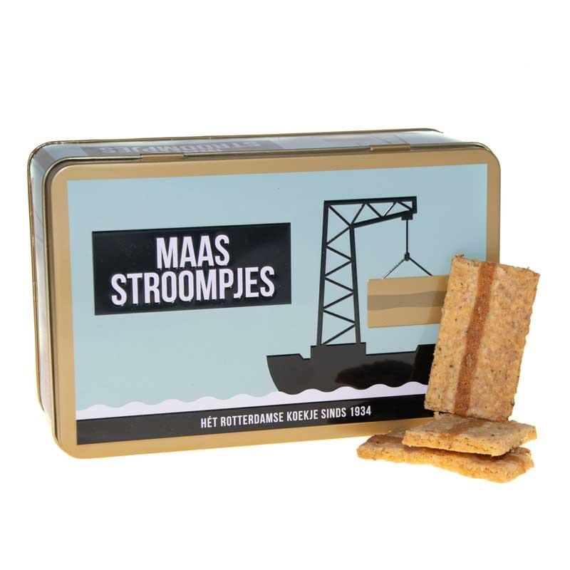 Maasstroompjes Rotterdams Pakket Koekjes cadeau