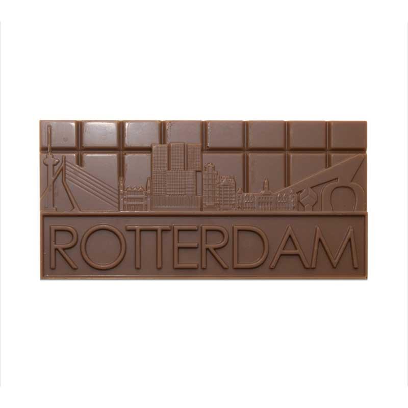 Rotterdamse Chocolade Skyline Melk cadeau geschenk gift brievenbus