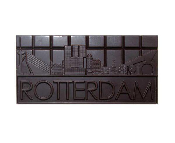 Rotterdamse Chocolade Puur Reep cadeau brievenbus geschenk