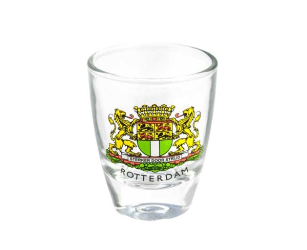 Shotglass Rotterdam Wapen cadeau geschenk drank