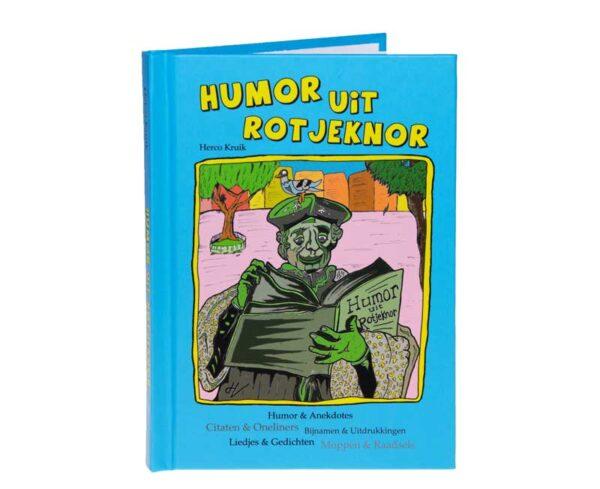 Humor uit Rotjeknor Boekje Rotterdam cadeau geschenk pakket