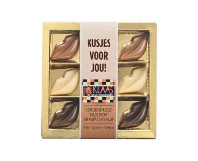 Chocolade kusjes, relatiegeschenk, personaliseren