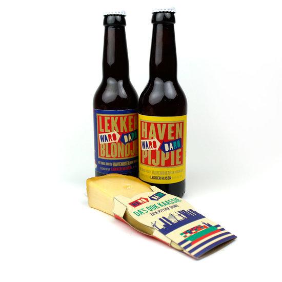 Cadeau, Rotterdam, bier met kaas
