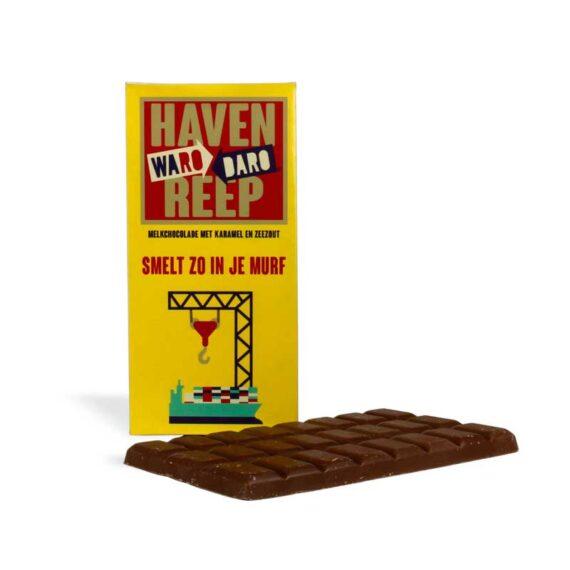 Chocolade, Rotterdamse, Havenreep, cadeau, brievenbusgeschenk
