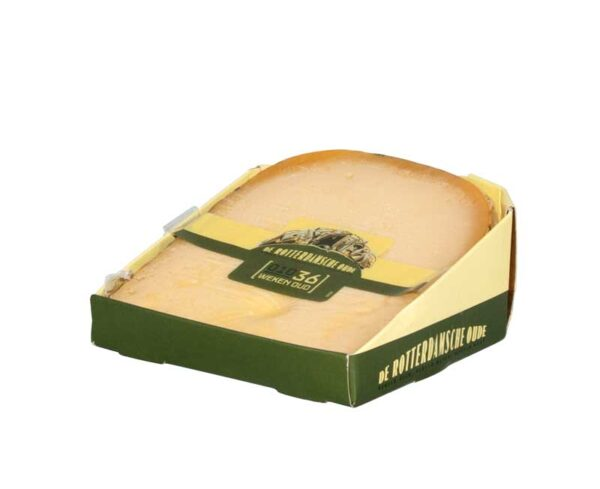 De Rotterdamsche Oude, Kaas, Pakket plat stukkie